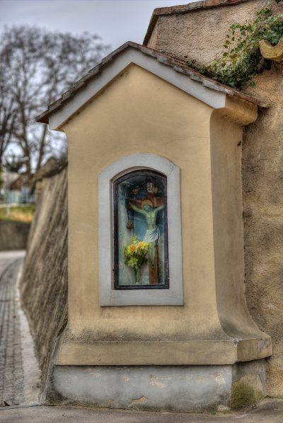 Marterl unter d. Gertrudskirche