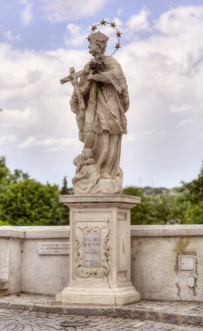 Johannes v. Nepomuk Statue