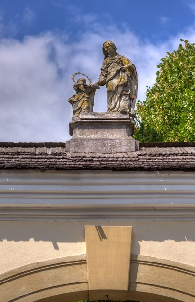 Figurengruppe Hl. Anna und Hl. Maria