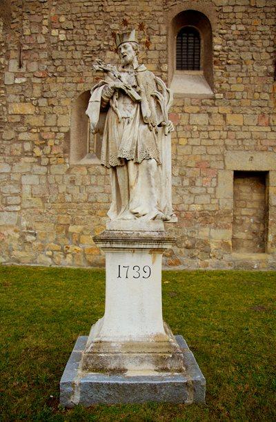 Johannes v. Nepomukstatue