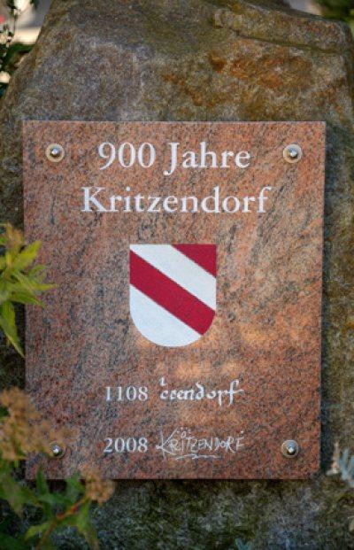 Gedenkstein 900 Jahre Kritzendorf