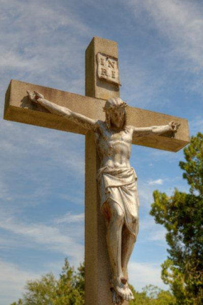 Kruzifix am friedhof